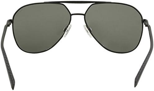 Nautica Men/'s N5121S N//5121//S 030 Gunmetal Pilot Polarized Sunglasses 59mm