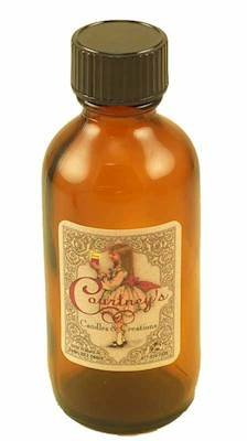 Courtney's Candles Scented Fragrance Oils - 2 Ounce Bottle - Mahogany-Teakwood