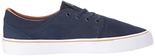 Dc Mens Trase Sd Skate Shoe Navy / Cammello
