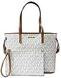 Michael Kors Jet Set Travel LG tote Drawstring Bag Vanilla/Acrn (35T8GTVT9B)