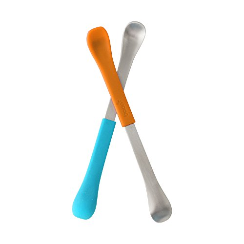 Boon Swap Baby Utensils,Blue/Orange