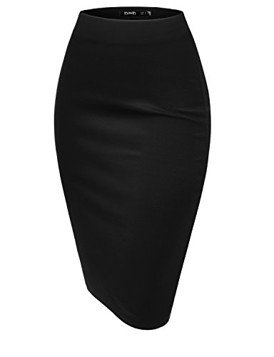 TWINTH Pencil Skirts Elastic Streychy product image