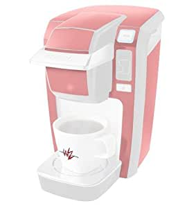 Pink Mold Coffee Maker : Amazon.com: Solids Collection Pink - Decal Style Vinyl Skin fits Keurig K10 / K15 Mini Plus ...