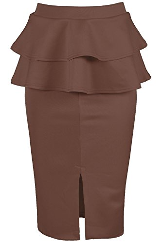 plus double split skirt - 6