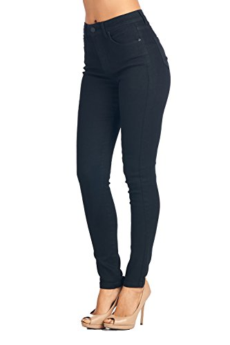 Blue Age Womes High Waisted Destroyed Well Stretch Skinny Jeans High Rise ,Jp0080t_high Waist, 3 (Acid Wash High Waist Jeans)