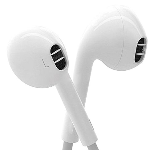 Price comparison product image Elecer Elecer Earbuds,  Nonoco iPhone Earbuds With Mic In Ear Headphones with Microphone & Mic Earphones for iPhone 6s 6 Plus 5s 5 5c 4s 4 se Galaxy S8 S7 S6 Note 1 2 3 IOS 7 8 9 X Earbuds Earphones