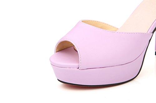 Bout EU 5 SLC04072 AdeeSu 36 Violet Ouvert Violet Femme BFU8n0