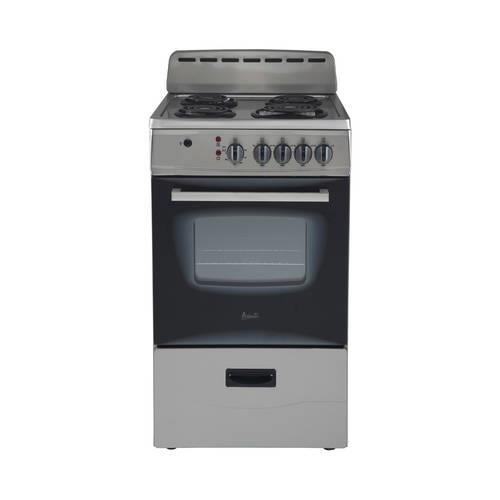 Avanti ER20P3SG Freestanding 20'' Electric Range, Stainless Steel