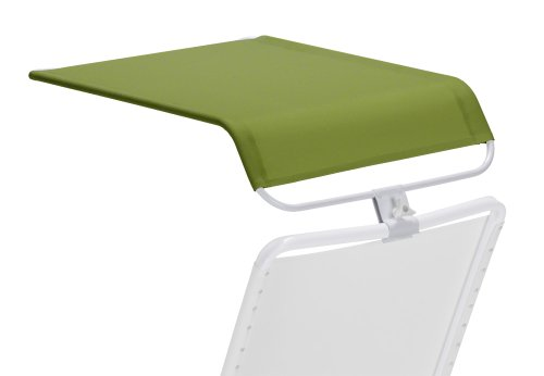 Telescope Casual Universal Shade Canopy, Lime with Gloss White Frame, Outdoor Stuffs
