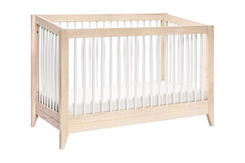 Babyletto Sprout 4-in-1 Convertible Crib with Toddler Bed Conversion Kit (Convertible Crib Toddler Bed)