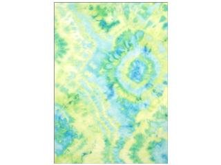 - Laras Crafts-New Image Design CPE100.30239 CPE Printed Felt 9 x 12 in. Tie Dye Lime44; Pack of 12