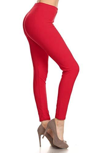Solid Leggings (RED-SXL128) -