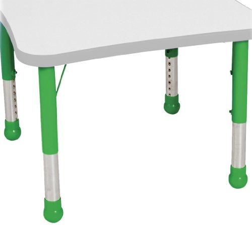 Balt Kids Leg Set for Tables, Green