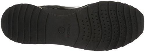 Mujer Geox Negro Aneko Zapatillas para a ABX D B Blackc9999 w0wSq7Z