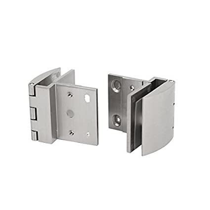 Dealmux 5mm 8mm thick wall mounted glass holders cabinet door hinges dealmux 5mm 8mm thick wall mounted glass holders cabinet door hinges clamps clips 2pcs planetlyrics