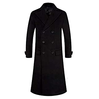 Black coat for men