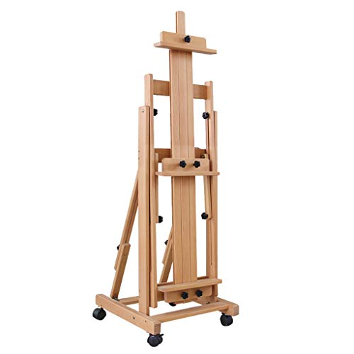 Green Royal Estate (Easel Royal@ Beech Wood Horizontal and Vertical Dual Use Traditional Chinese Painting Oil, Landing Solid Wood Lift Fold Professional Large, Elm, Multifunction Real Estate Display Stand)