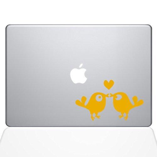 The Decal Guru Kissing Birds Macbook Decal Vinyl Kissing Sticker (1235-MAC-15X-SY) Macbook - 15 Macbook Pro (2016 & newer) - Yellow (1235-MAC-15X-SY) [並行輸入品] B0788CHXD5, 銘菓処笑福堂:093409c0 --- amlakzamanpour.ir