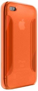 Katinkas 6007007 Housse en silicone TPU pour Apple iPhone 4 Orange