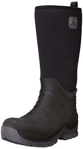 Kamik Mannen Bushman Rubberen Laarzen Zwart (black-noir)