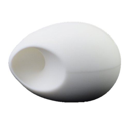 speaker-195db-amplifier-for-iphone-cute-egg-shaped-soft-silicone-stand-white