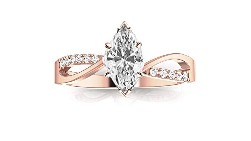 0.53 Ct Marquise Diamond - 7