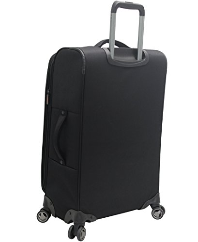 Pathfinder Luggage Presidential Midsize 25'' Suitcase With Spinner Wheels (25in, Black) by Pathfinder (Image #2)
