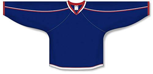 - Customization Depot 2010 Columbus Navy Gussets Plain Blank Hockey Jerseys