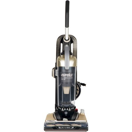 Eureka Ultimate Clean Pet Cyclonic Bagless Upright Vacuum with Brushroll Clean and (Clean Bagless Vacuum)