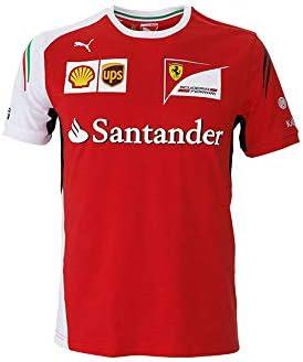 Camiseta Replica Scuderia Ferrari Team F1 2014 Junior Talla 12 Años: Amazon.es: Deportes y aire libre