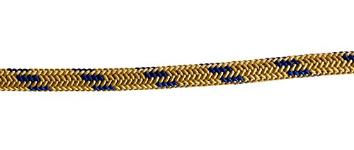 New England 8mm Accessory Cord 25' Gold/Blue by New England