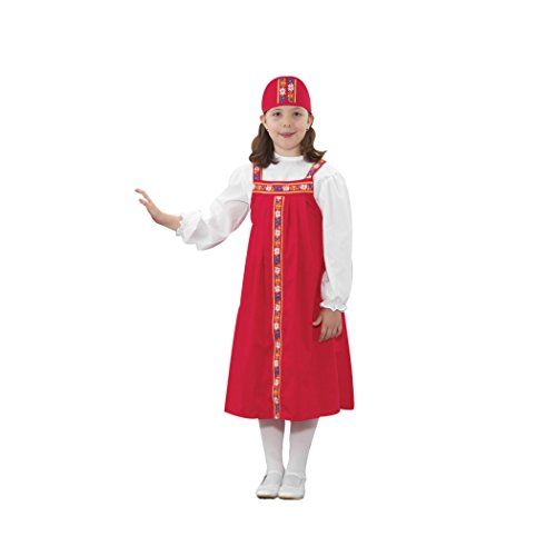 Russian Costume For Girls (Childrens Factory FPH329G Ethnic Russian Girl Role Play Costume)