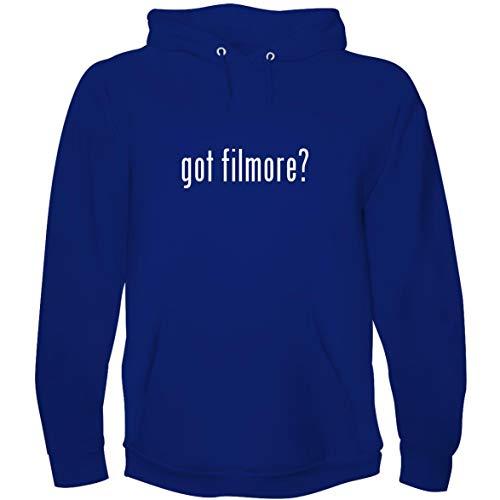 The Town Butler got filmore? - Men's Hoodie Sweatshirt, Blue, Large