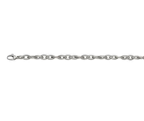 9ct or blanc Echo 19,1cm/Bracelet 19cm
