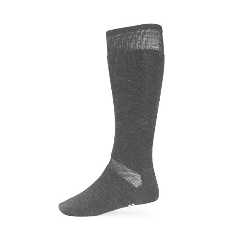 Minus33 Merino Wool Ski and Snowboard Sock Grey Heather Medium