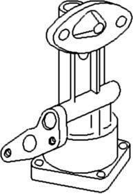 New Oil Pump W/ Gaskets C3NN6621A Fits All FD tractors