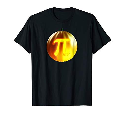 Punny Geeky Halloween T Shirt - Pumpkin Pi Pun Costume -