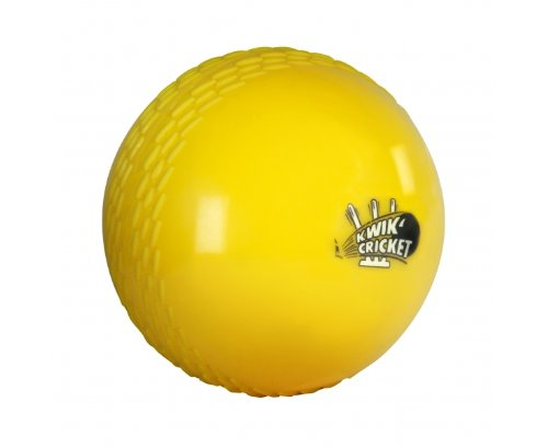 GRAY NICOLLS Kwik Cricket Yellow Indoor Ball by Gray-Nicolls