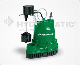 Hydromatic V-A1 3/10 HP Cast Iron Sump Pump