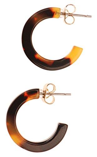 L. Erickson Skinny Small Hoop Earrings - Tokyo