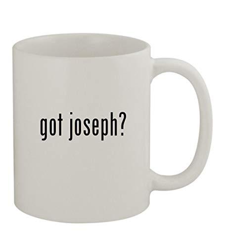 got joseph? - 11oz Sturdy Ceramic Coffee Cup Mug, White ()