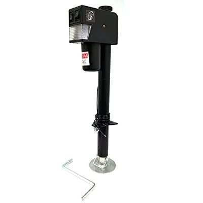 RAM EJ-3520-BBX 3,500 lb. Electric Trailer Jack with Drop Leg