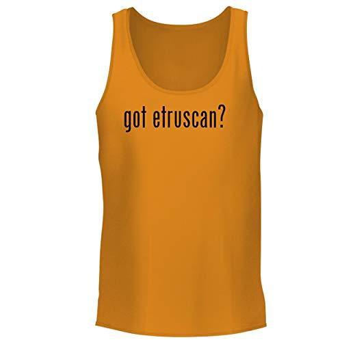 BH Cool Designs got Etruscan? - Men's Graphic Tank Top, Gold, Large
