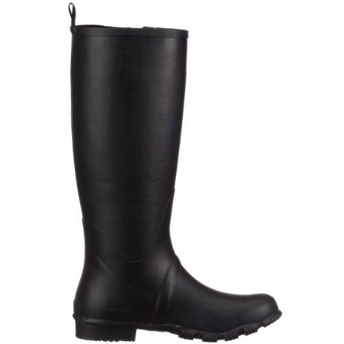 Giesswein Zwiedorf 53/10/49058 - Botas de agua de caucho para mujer Negro