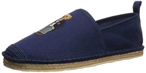 (Polo Ralph Lauren Men's Barron Slipper, Newport Navy, 11 D US)