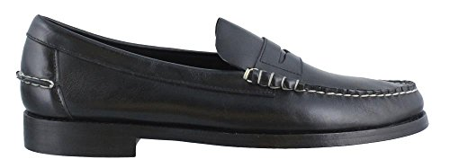 Penny Loafers Black 8.5 D (Sebago Mens Slip)