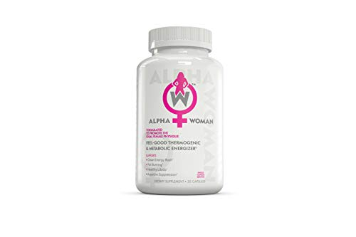 (ALPHA WOMAN - Weight Loss Supplement, 4-in-1 Thermogenic Energizer, Appetite Suppressant & Mood Enhancer, 30 Capsules ...)
