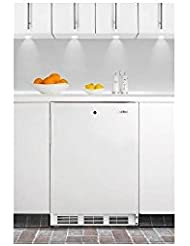 Summit ALF620LBI Refrigerator, White