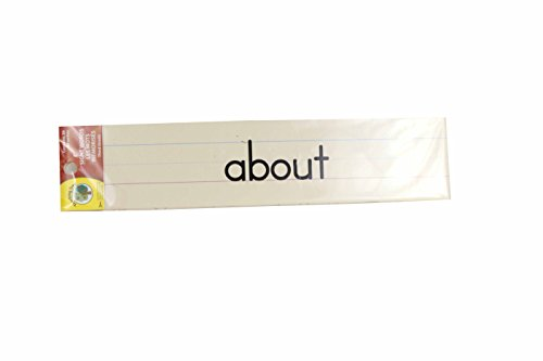 Educational Classroom Learning Strips ~ Sight Words (Third Grade)
