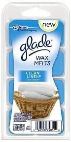 Glade Wax Melts Clean Linen Clamshell 8 / Pack 3.1oz by Johnson S.C. & Sons Inc.